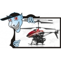 HELIMODELO WL Toys V757 Bubble Master Co-Axial 3.5 Channel RC Helicopter (Red)