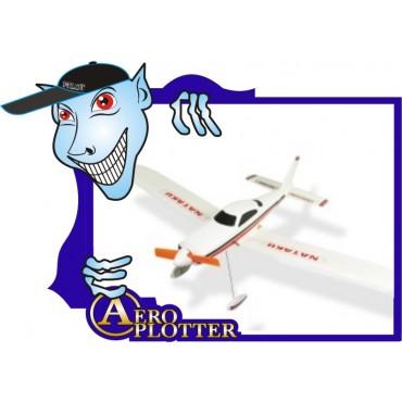 AEROMODELO Micro Cessna Nataku  KIT com Motor ESC & Servos